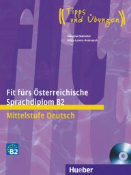 Fit f. ÖSD-Prüf., B2, LB m. integ. CD