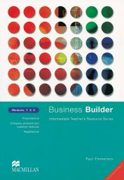 Business Builder, Modules 7,8,9