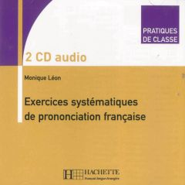 Exercices Systémat. de prononciation,CDs