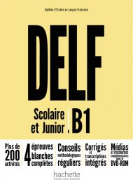 DELF Scolaire & Junior B1, NE
