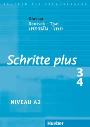 Schritte plus 3+4, Gloss. Dt.-Thai.
