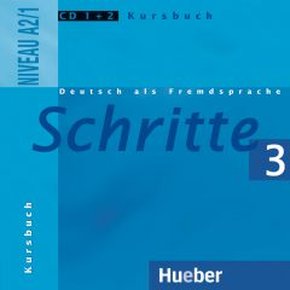 Schritte 3, 2 CDs zum Kursbuch