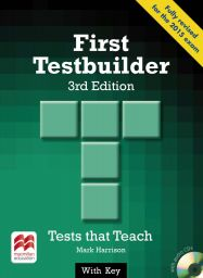 First Testbuilder,3rd ed. with key