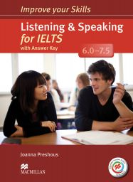 Improve IELTS6 Skills, L+S, SB+MPO +Key