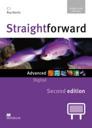 Straightforward 2nd.,Adv.,IWB DVD-ROM