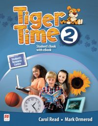 Tiger Time 2, Student Book Pack. + ebook