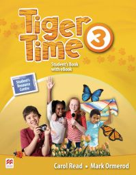 Tiger Time 3, Student Book Pack. + ebook