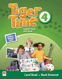Tiger Time 4, Student Book Pack. + ebook