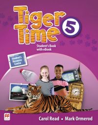 Tiger Time 5, Student Book Pack. + ebook