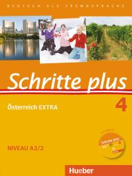 Schritte plus 4, Österr.EXTRA,KB+AB+CD-P