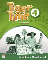 Tiger Time 4, Activity Book