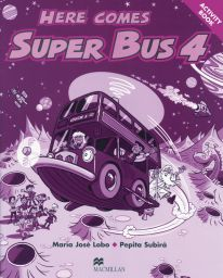 Here comes Super Bus, Level 4, Activ. Bk