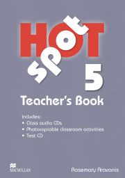 Hot Spot 5 Teacher's Book with Test CD
