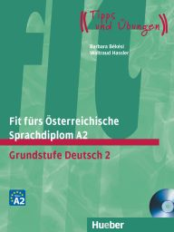 Fit f. ÖSD-Prüf., A2, LB m. integ. CD