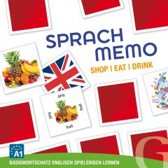Sprachmemo Englisch: Shop/Eat/Drink