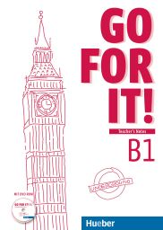 Go for it! B1, LHB mit DVD