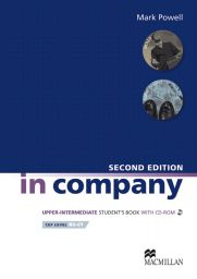 In Company 2nd Ed., Upp-Int., SB+CD-ROM