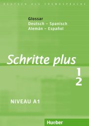 Schritte plus 1+2, Gloss. Dt.-Span.