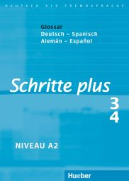 Schritte plus 3+4, Gloss. Dt.-Span.