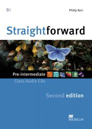 Straightforward2nd.,Pre-Int.,2 Audio-CDs