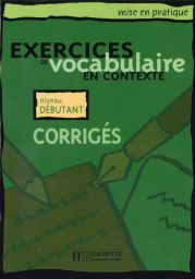 Exercices Vocabul...cont.,début.(Corr)