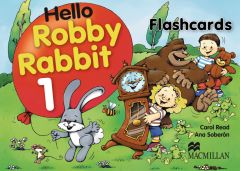 Hello Robby Rabbit, Level 1, Flash Cards