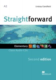 Straightforward 2nd., Elem., 2 Audio-CDs