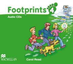 Footprints, Level 4, 4 Audio-CDs