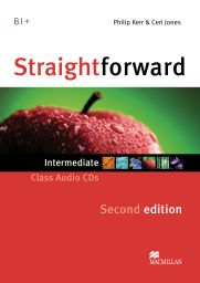 Straightforward 2nd.,Interm.,2 Audio-CDs