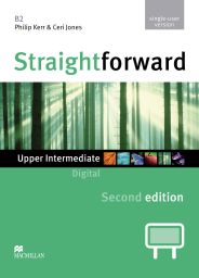 Straightforward 2nd.,Upp-Int., IWB DVD-R