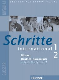 Schritte intern. 1+2, Gloss. Dt.-Korean.