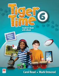 Tiger Time 6, Student Book Pack. + ebook