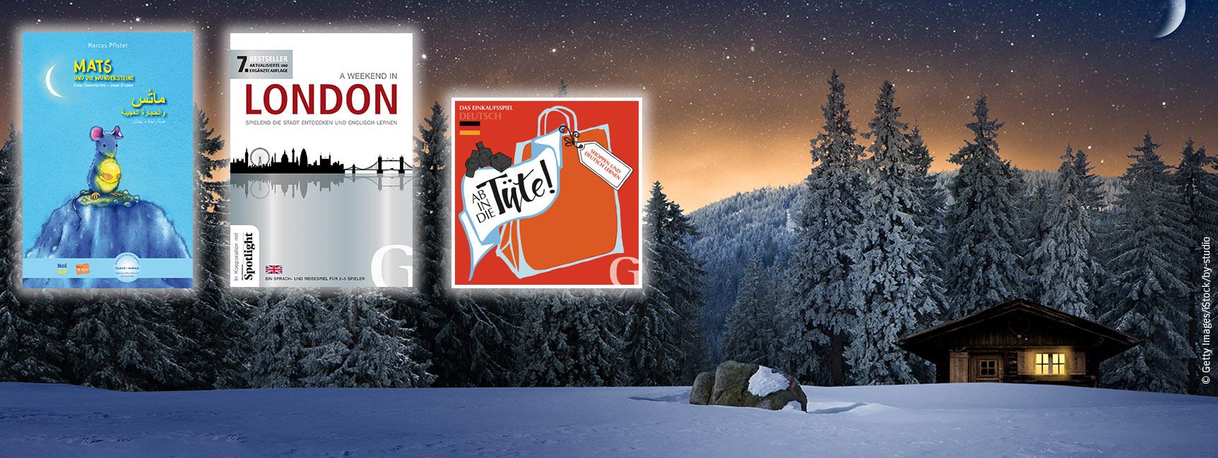 Für gemütliche Winterabende: Sprachspiele und zweisprachige Kinderbücher